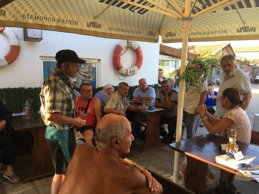 Информационна среща с рибарите от Рибарското селище