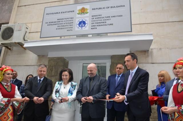 Откриване сградата на Изпълнителната агенция по рибарство и аквакултури в гр. Бургас