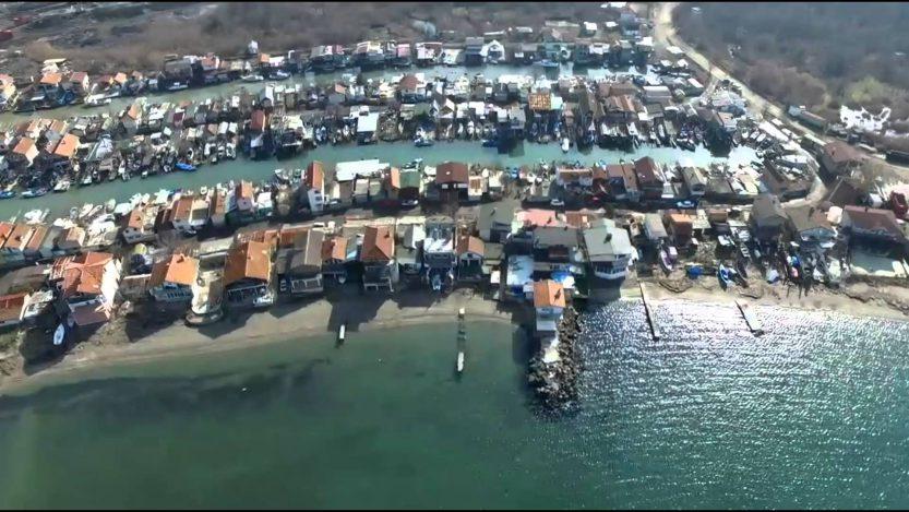 Рибарското селище край Бургас Ченгене скеле