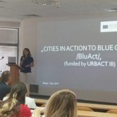 """Участие на МИРГ Бургас-Камено в кръгла маса по проект """"Градове в действие към син растеж"""" /BluAct/"""